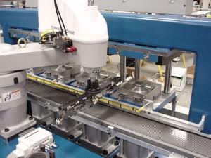 Automated High Volume Multi-station Heat Set Machine
