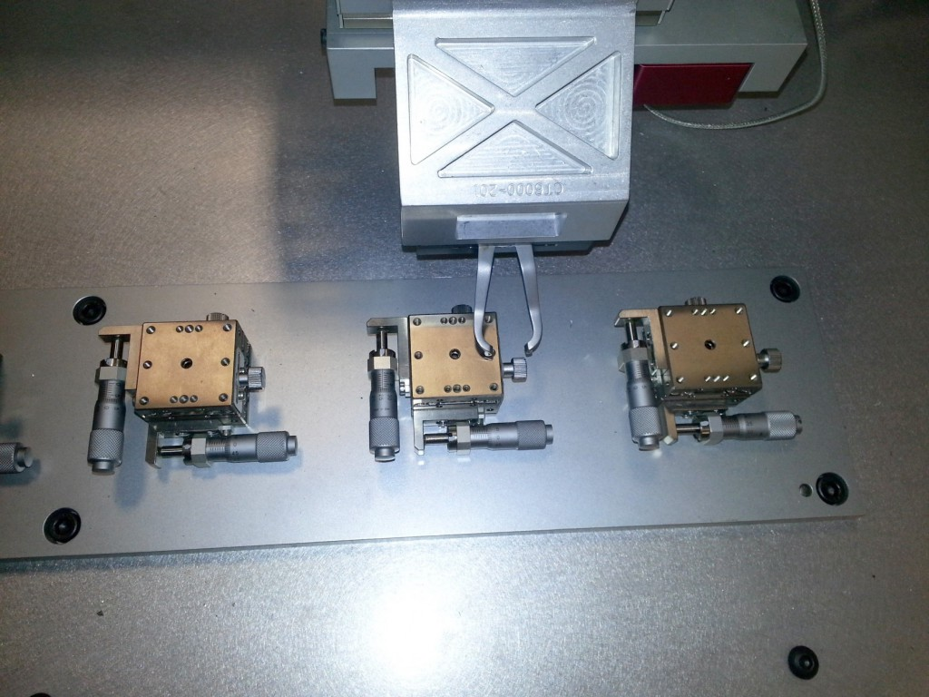 3 Axis Servo Motion & Load Data Collection