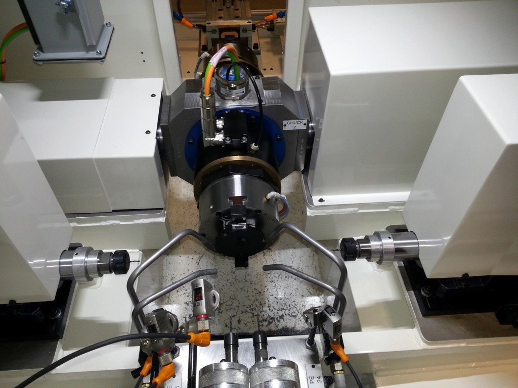6 Axis Radial Drilling Machine with Trunnion Servo Indexer